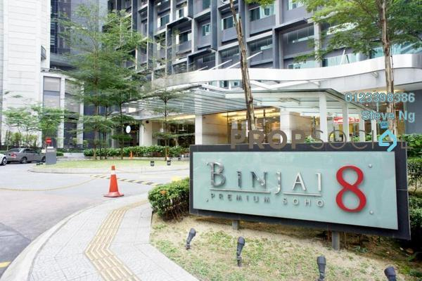 For Rent SoHo/Studio at Binjai 8, KLCC Freehold Unfurnished 0R/0B 3.8k