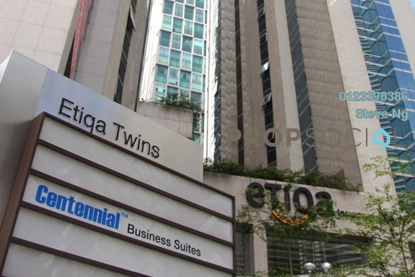 For Rent Office at Etiqa Twins, KLCC Freehold Unfurnished 0R/0B 2.7k