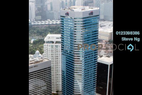 For Rent Office at Menara Citibank, KLCC Freehold Unfurnished 0R/0B 8k
