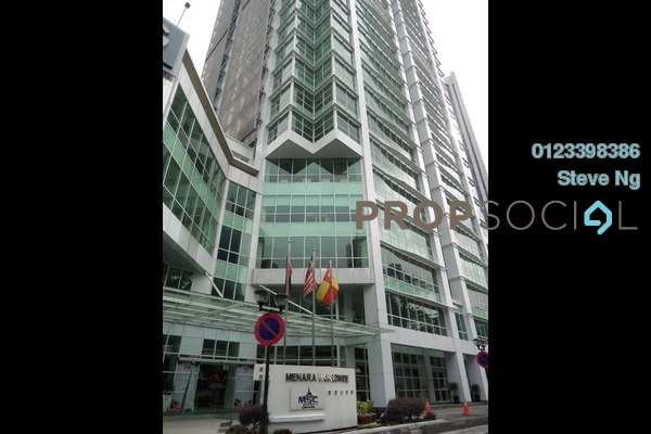 For Rent Office at Menara Worldwide, KLCC Freehold Unfurnished 0R/0B 8k