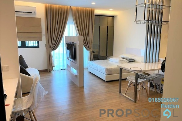 For Rent Condominium at Symphony Tower, Balakong Freehold Semi Furnished 3R/2B 1.3k