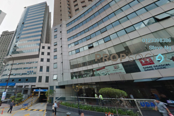 For Rent Office at Wisma UOA I, KLCC Freehold Unfurnished 0R/0B 30k
