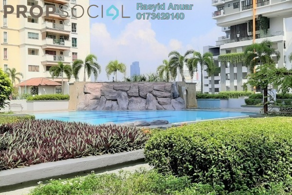 For Rent Condominium at Gurney Heights, Keramat Freehold Fully Furnished 3R/2B 2.2k