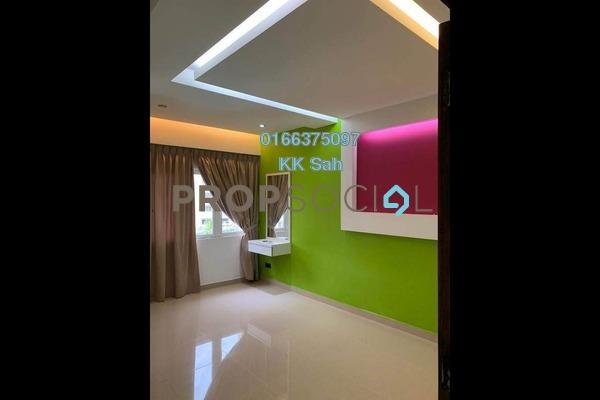 For Rent Condominium at Petaling Indah, Sungai Besi Freehold Semi Furnished 3R/2B 1.3k