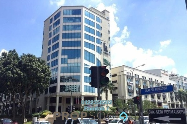 For Rent Office at Plaza Dwitasik, Bandar Sri Permaisuri Freehold Semi Furnished 0R/1B 2.1k