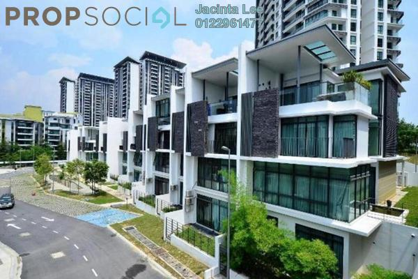 For Sale Terrace at Cristal Residence, Cyberjaya Freehold Semi Furnished 5R/6B 1.02m