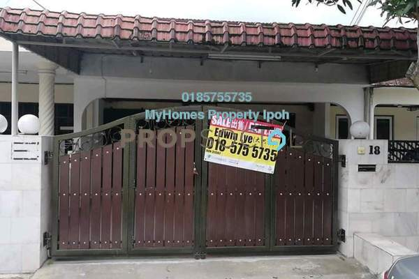 For Sale Terrace at Taman Desa Aman, Ipoh Leasehold Semi Furnished 3R/2B 168k