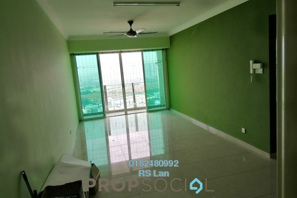 For Rent Serviced Residence at The Zest, Bandar Kinrara Freehold Semi Furnished 3R/2B 1.5k