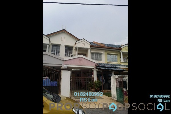 For Sale Terrace at BP10, Bandar Bukit Puchong Freehold Semi Furnished 4R/3B 630k