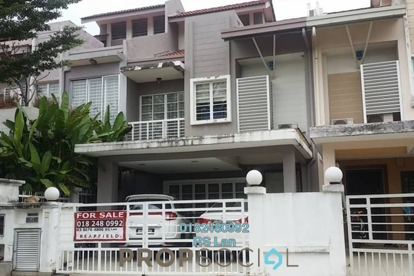 For Sale Terrace at D'Alpinia, Puchong Freehold Semi Furnished 4R/3B 770k
