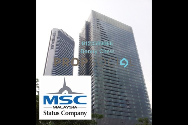 For Rent Office at Integra Tower, KLCC Freehold Semi Furnished 0R/0B 33k