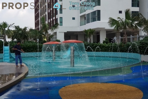For Rent Condominium at Amerin Mall & Residence, Balakong Freehold Fully Furnished 2R/2B 1.5k