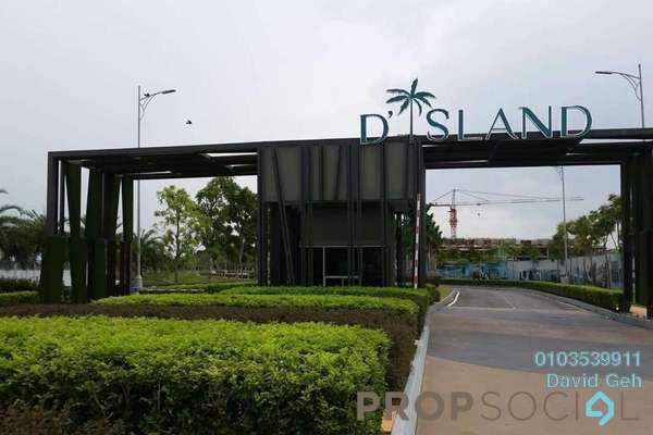 For Sale Terrace at Nautilus @ D'Island, Puchong Freehold Unfurnished 5R/5B 1.12m