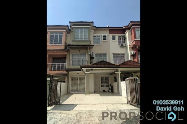 For Rent Terrace at Taman Puncak Jalil, Bandar Putra Permai Freehold Fully Furnished 4R/3B 2.5k
