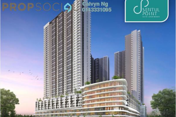 For Sale Condominium at Sentul Point, Sentul Freehold Unfurnished 2R/2B 358k