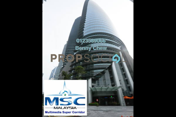 For Rent Office at Menara TH @ Platinum Park, KLCC Freehold Semi Furnished 0R/0B 20k