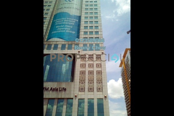 For Rent Office at Menara Tokio Marine, KLCC Freehold Semi Furnished 0R/0B 12k
