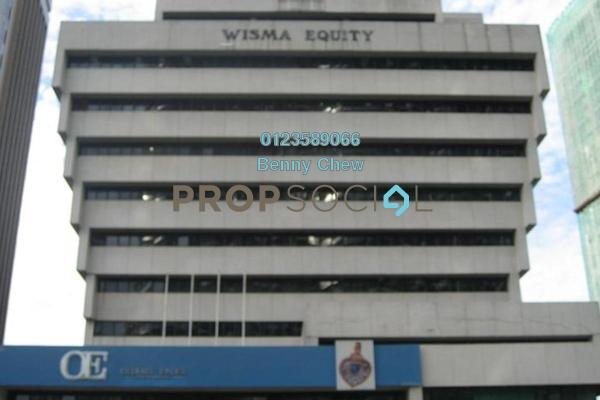 For Rent Office at Wisma Equity, KLCC Freehold Semi Furnished 0R/0B 10k