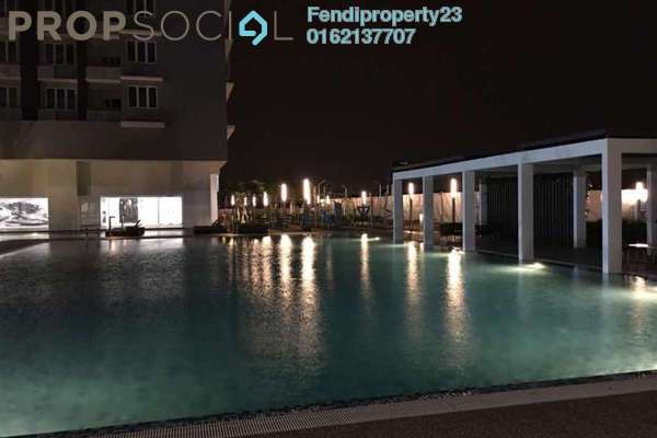 For Rent Condominium at Aurora Residence @ Lake Side City, Puchong Freehold Semi Furnished 3R/2B 1.3k