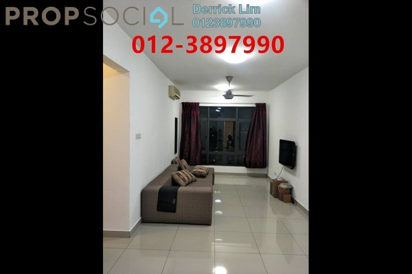 For Rent Condominium at Pearl Suria, Old Klang Road Freehold Semi Furnished 2R/2B 1.6k