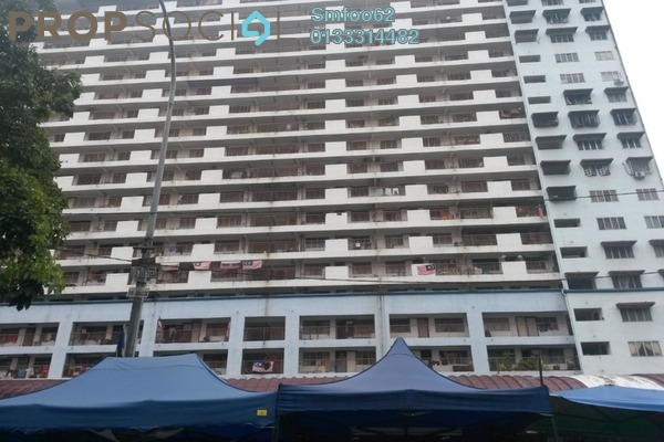 For Rent Apartment at Danau Kota, Setapak Freehold Unfurnished 3R/1B 850translationmissing:en.pricing.unit
