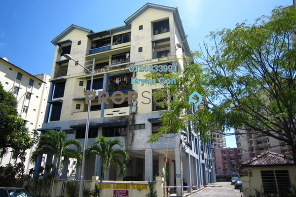 For Rent Apartment at Desa Lumba Kuda, Georgetown Freehold Fully Furnished 2R/1B 950translationmissing:en.pricing.unit