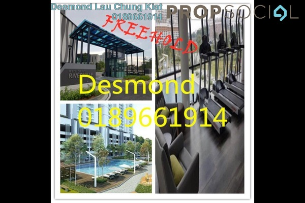 For Sale Condominium at Riverville Residences, Old Klang Road Freehold Semi Furnished 3R/2B 720k