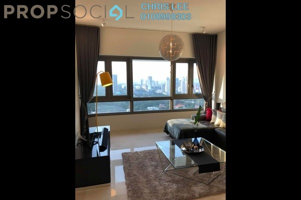 For Sale Condominium at The Sentral Residences, KL Sentral Freehold Fully Furnished 2R/3B 2m