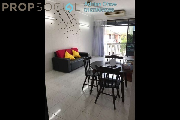 For Rent Apartment at Medan Lumba Kuda, Air Itam Freehold Fully Furnished 3R/2B 1.35k