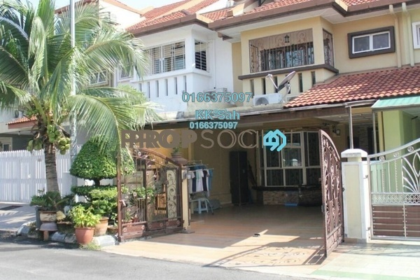 For Sale Terrace at Taman Megah, Cheras South Freehold Fully Furnished 6R/4B 900k