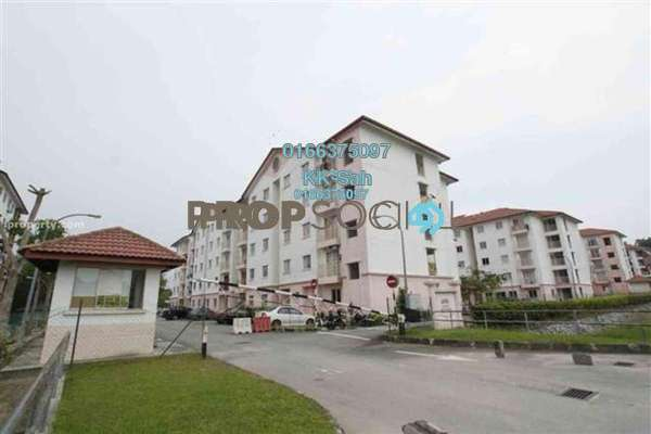 For Sale Apartment at Taman Sri Bahagia, Cheras South Freehold Semi Furnished 3R/2B 318k