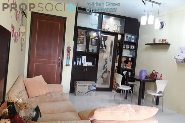 For Sale Condominium at Symphony Park, Jelutong Freehold Fully Furnished 3R/2B 410k