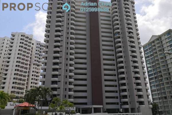 For Sale Condominium at Twin Towers, Tanjung Bungah Freehold Semi Furnished 3R/3B 620k