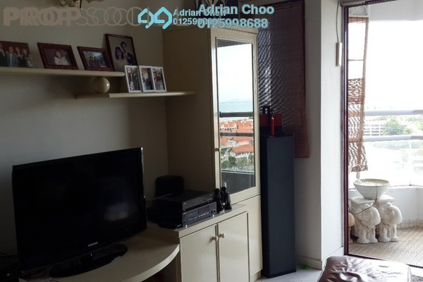 For Sale Condominium at Marina Bay, Tanjung Tokong Freehold Semi Furnished 3R/2B 650k