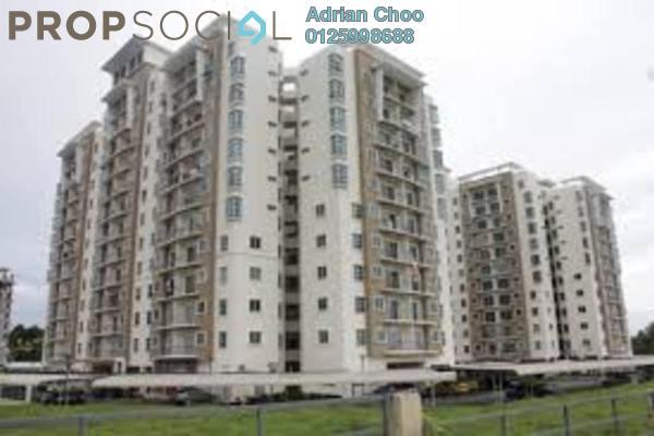 For Sale Apartment at Idaman Lavender, Sungai Ara Freehold Semi Furnished 3R/2B 350k