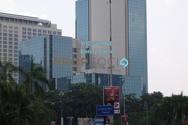 For Rent Office at Wisma Selangor Dredging, KLCC Freehold Semi Furnished 0R/0B 9.75k