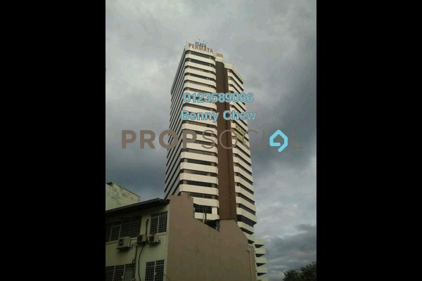 For Rent Office at Plaza Permata, Sentul Freehold Semi Furnished 0R/0B 7k