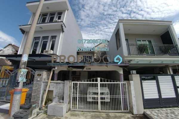 For Sale Terrace at Taman Samudra, Batu Caves Freehold Unfurnished 4R/3B 470k