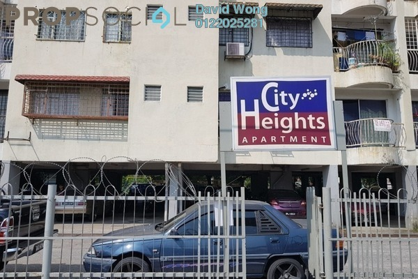 For Rent Apartment at City Heights Apartment, Kajang Freehold Unfurnished 3R/2B 750translationmissing:en.pricing.unit