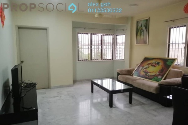 For Rent Condominium at Aman Puri, Kepong Freehold Fully Furnished 3R/2B 1.2k