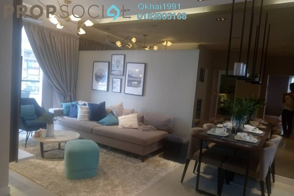 For Sale Condominium at Sunsuria Forum, Setia Alam Freehold Fully Furnished 3R/1B 479k