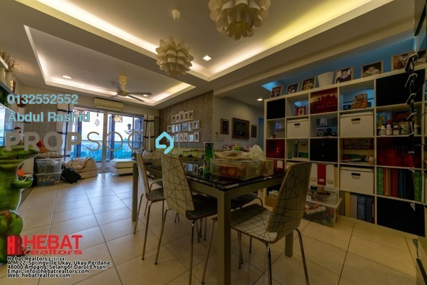 For Rent Condominium at Desa Putra, Wangsa Maju Freehold Fully Furnished 3R/2B 2.1k