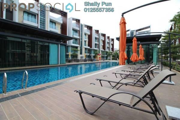 For Rent Condominium at Tropical Villa, Seri Kembangan Freehold Fully Furnished 0R/1B 1.6k