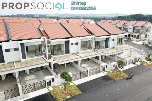 For Sale Superlink at Ixora 2 Residences, Bandar Seri Coalfields Freehold Unfurnished 4R/4B 693k