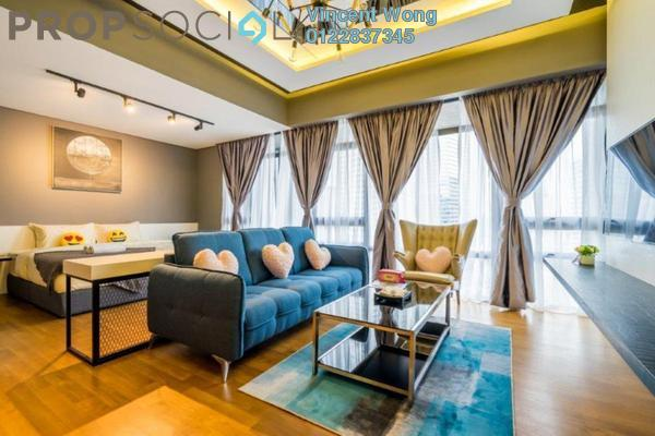 For Sale Condominium at Anggun Residences, Dang Wangi Freehold Fully Furnished 0R/1B 1.38m