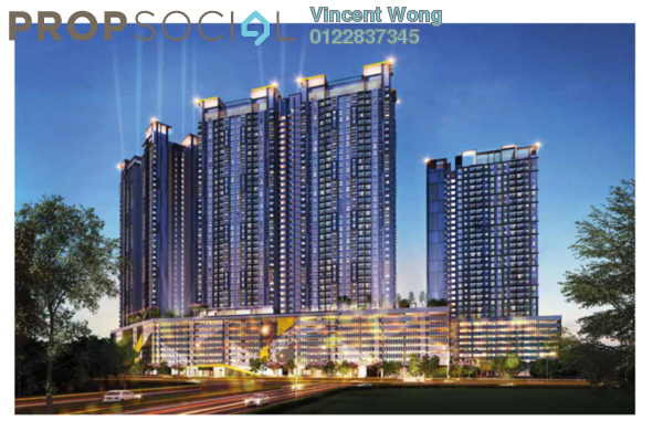 For Sale Condominium at PV18 Residence, Setapak Freehold Unfurnished 3R/2B 473k
