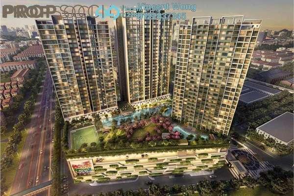 For Sale Serviced Residence at Sunway Mentari, Bandar Sunway Freehold Semi Furnished 2R/1B 445k