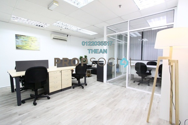 For Rent Office at Icon City, Petaling Jaya Freehold Fully Furnished 0R/0B 1.5k