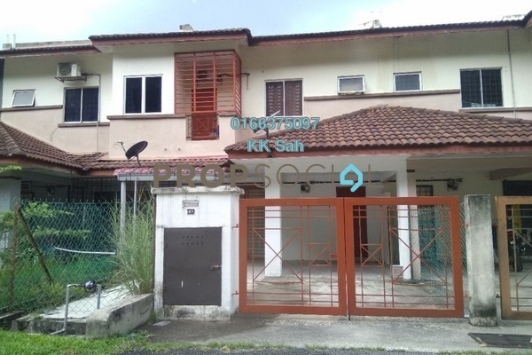 For Sale Terrace at Section 6, Bandar Mahkota Cheras Freehold Semi Furnished 4R/3B 460k