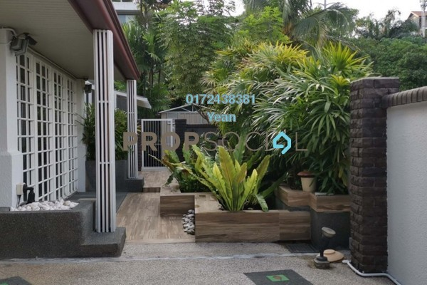 For Sale Bungalow at Bukit Bangsar, Bangsar Freehold Semi Furnished 4R/6B 6.5m